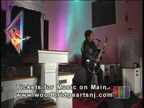 Jeffrey Gaines performs Music on Main Street Woodbridge NJ 5/6/2009
