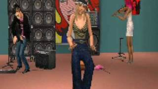 Fergie feat Sean Kingston - Big Girls Dont Cry (Remix) (Sims 2)