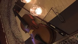 "Persian Classical Music- ""Tamanna""- Nader Bazzazieh: Violin; Jahangir Mohammadi: Tombak"
