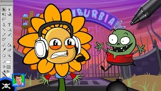 See James Draw - Zack Scott Vs. Plants Vs. Zombies thumbnail