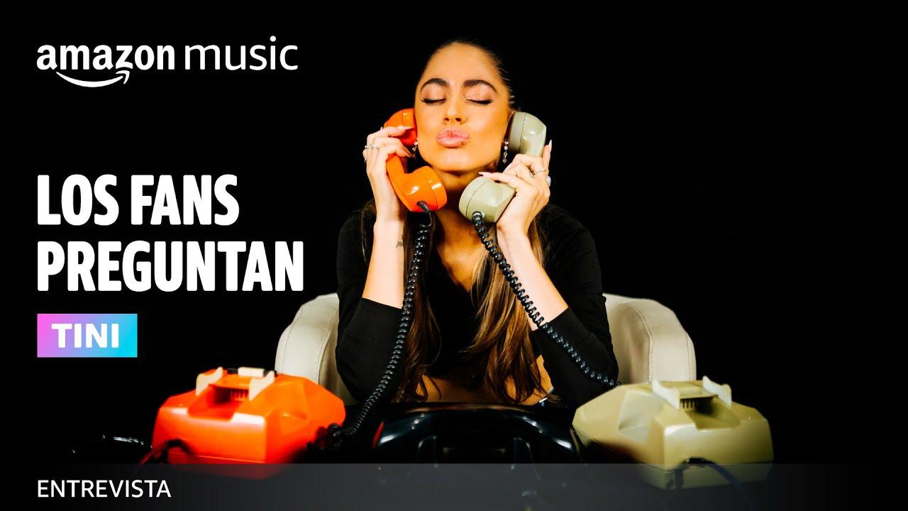 Los Fans Preguntan: TINI | Amazon Music México