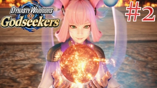 Dynasty Warriors: Godseekers - Walkthrough Part 2 | Chapter 2 [English, Full 1080p HD, PS4]