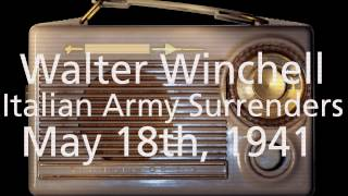 WWII News Radio May 18, 1941 - Walter Winchell