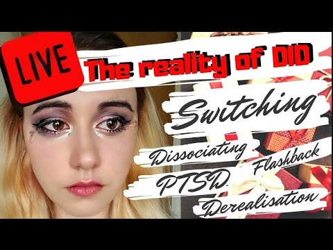 UNBOXING LIVE! What Dissociative Identity Disorder REALLY Looks Like. PTSD, SWITCHING, DISSOCIATING