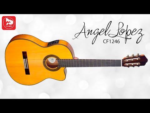 Электроакустическая гитара ANGEL LOPEZ CF1246TCFI-S (с нейлоновыми струнами, фламенко)