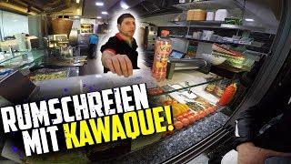RUMSCHREIEN in Berlin mit KAWAQUE! | MotoVlog