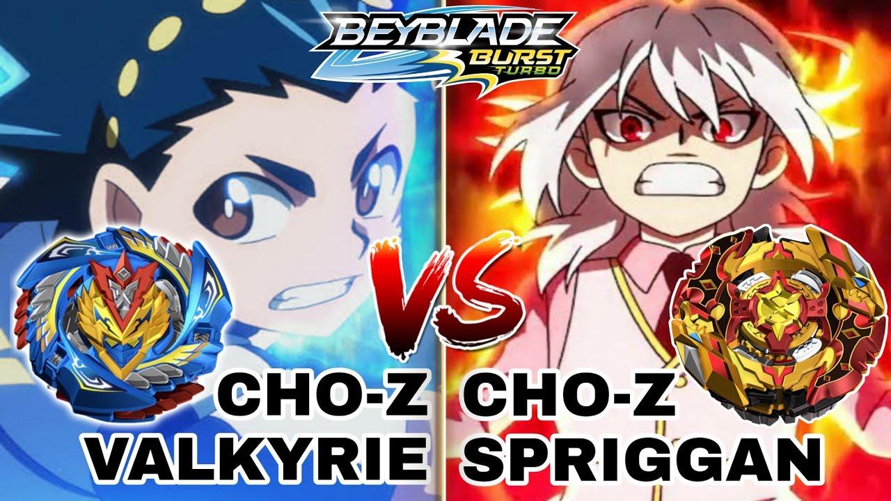 BATALLAS BEYBLADE! Slash Valkyrie VS Cho Z Valkyrie - YouTube