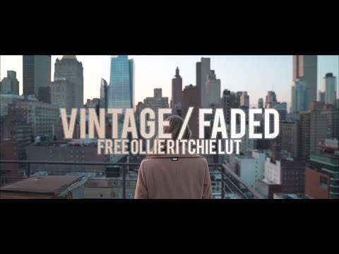 Vintage/Faded Color Grading Tutorial | FREE Ollie Ritchie Inspired LUT thumbnail