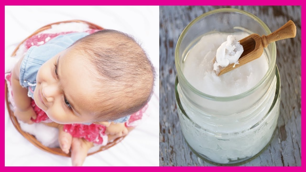 How To Grow Your Baby S Hair Faster Baby Hair Growth Oil Youtube