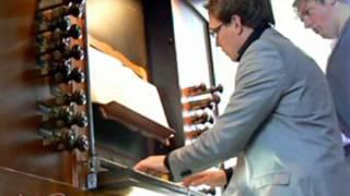 Nun danket alle Gott BWV 657 Gilman-orgel Gudulakerk Lochem