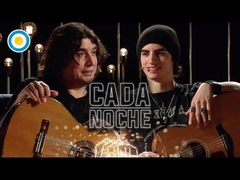Luis y Juan Salinas en Cada Noche