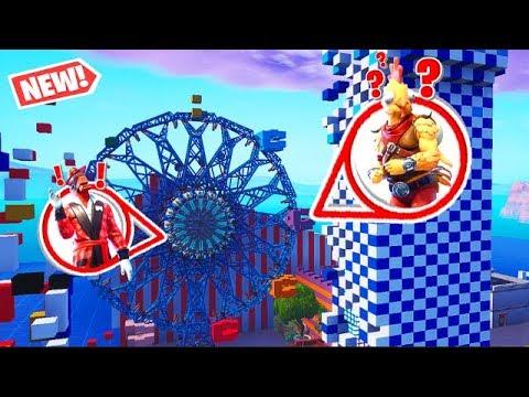 carnival clown horror hide and seek in fortnite battle royale - fortnite carnival 2019