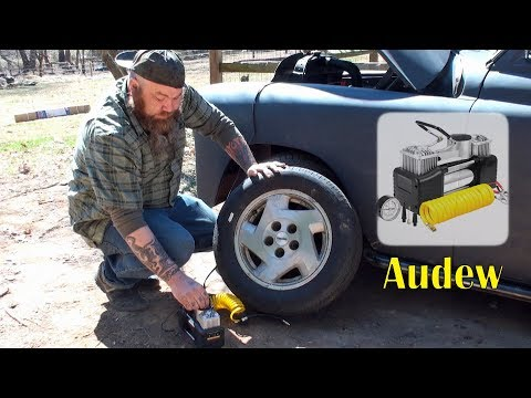 👀-audew-portable-air-compressor-pump-(tire-inflation)-fast-double-cylinder-review👈