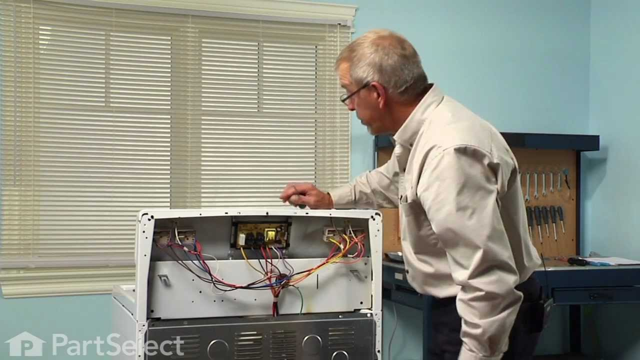 range stove oven repair replacing the clock timer frigidaire part 316455400 youtube [ 1280 x 720 Pixel ]