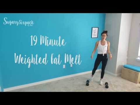 19 Minute Weighted Fat Blast