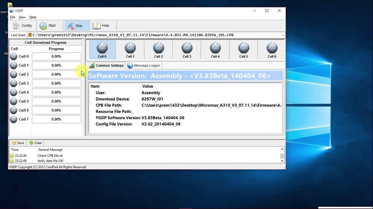 Micromax Q345 Firmware V12