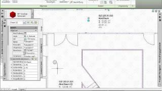 AutoCAD Architecture - Tutorial 06/15 - intelligente Räume