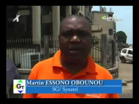 RTG - Assemblée générale du syndicat des agents de Gabon Telecom