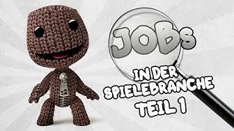 Jobs in der Spielebranche - Teil 1