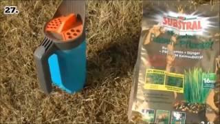 Rasen Vertikutieren und Nachsäen | Rasenpflege im Juni 2017