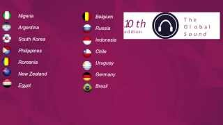 10th International Song Contest: The Global Sound Semifinal 1