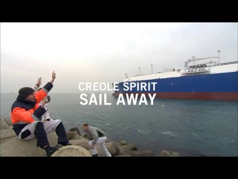 Creole Spirit Sail Away | Teekay's 1st MEGI-Type LNG Carrier