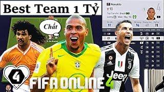 """Xây Dựng & Trải Nghiệm Đội Hình """" 1 TỶ BP """" XUẤT SẮC NHẤT Vs Best ST Ronaldo Béo TT By I Love FIFA"""