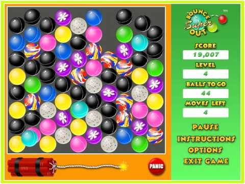 Some New Super Bounce Out! Game Play