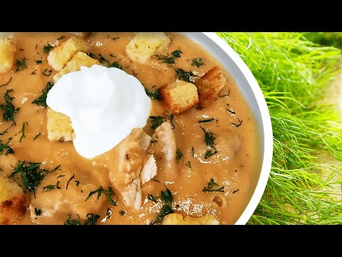 Turkey Celery Cream Soup, A Cream Of Celery Soup Recipe To Cook Celery Soup With Turkey! 🦃