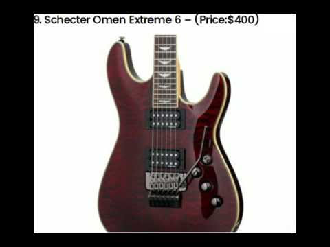 top 10 most popular and best selling electric guitars world youtube. Black Bedroom Furniture Sets. Home Design Ideas