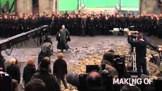 """На съемочной площадке последней главы """"Гарри Поттер и Дары Смерти: Часть 2"""""""