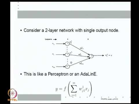 Mod-08 Lec-26 Multilayer Feedforward Neural networks with Sigmoidal activation functions;