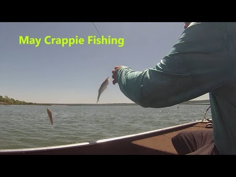 May Crappie Fishing In Texas (Fishing With The Wife)