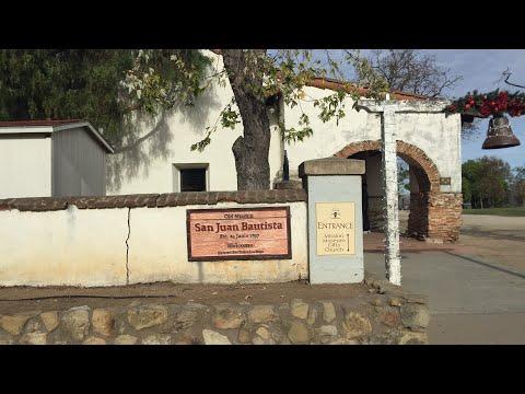 Tour around Old Mission San Juan Bautista 🍭 California Spanish Missions