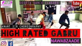 High rated gabru __nawabzaade __ Dance choreography by Anant sir call_7007657224