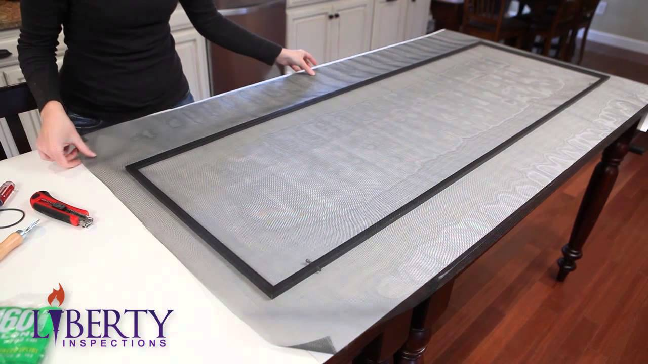 Home Inspectors Philadelphia Shows Window Screen Replacement | (610)  717-3940 | Call Us!