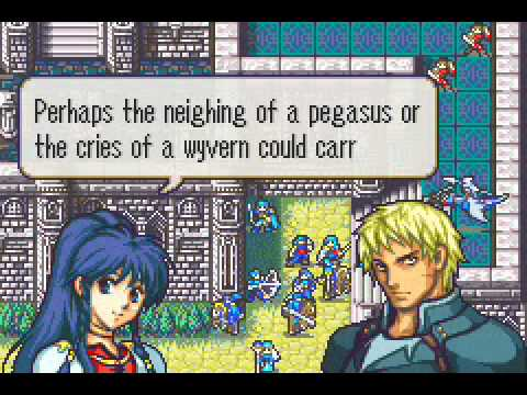 Fire Emblem The Sacred Stones Support Tana Cormag C Youtube