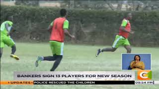 KCB sign 13 players for new season