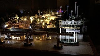 Completed Olszewski Disneyland and Fantasyland Platform at Night