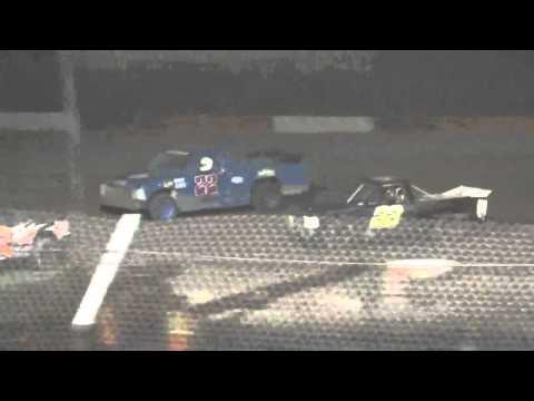 7.24.15 Attica Raceway Park Dirt Truck A-Main