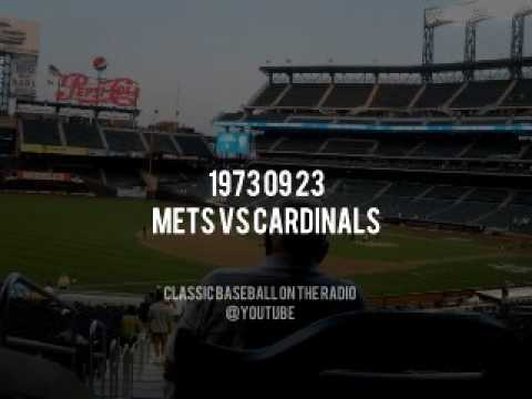 1973 09 23 Mets vs St Louis Cardinals Pennant Chase Continues Complete Radio Broadcast