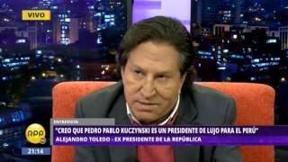 Alejandro Toledo en Todo Se Sabe (1)