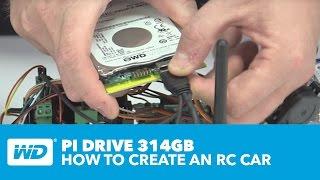 WD PiDrive 314GB - كيفية إنشاء سيارة الصليب الأحمر مع التوت Pi