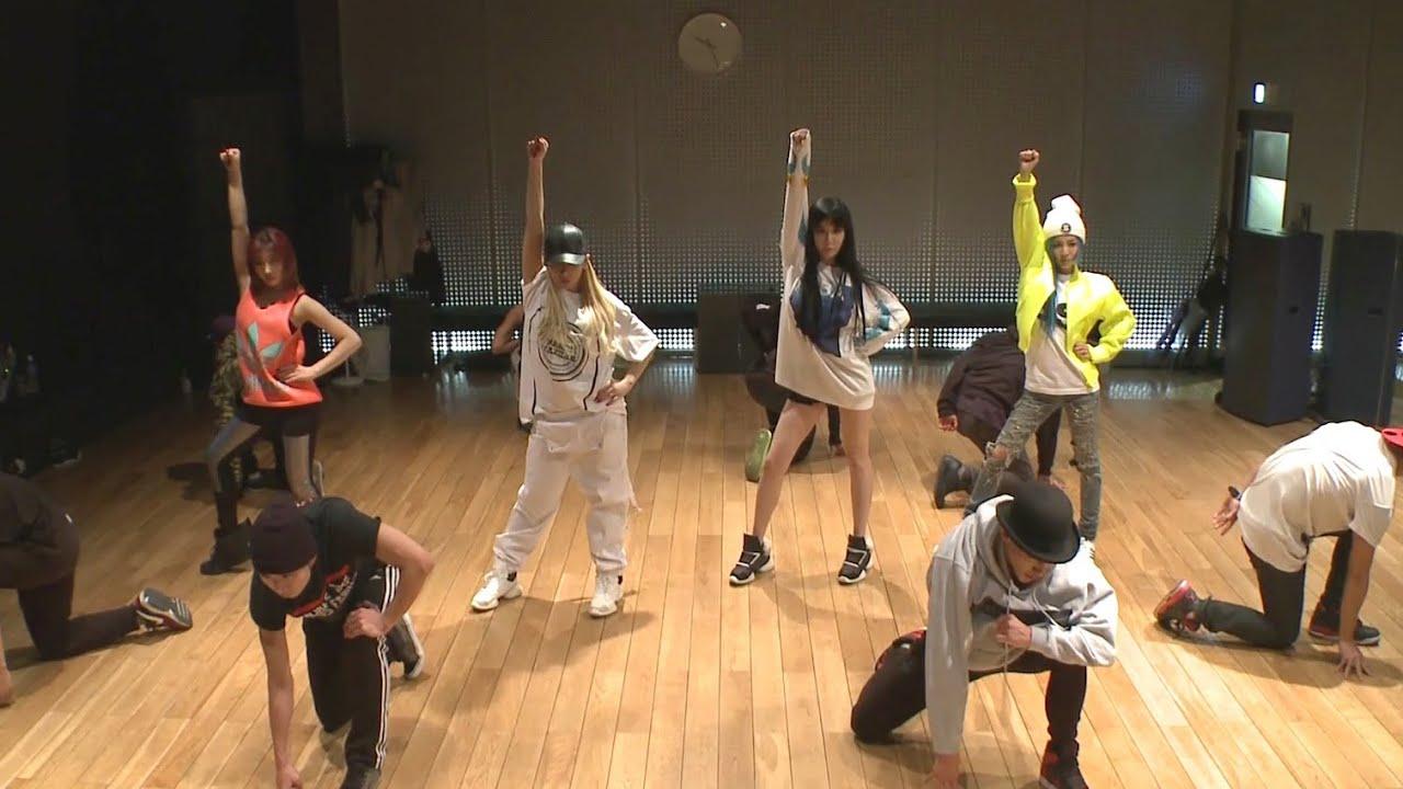 2NE1 COME BACK HOME Dance Practice YouTube