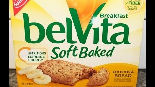 Belvita Breakfast Soft Baked: Banana Bread Review