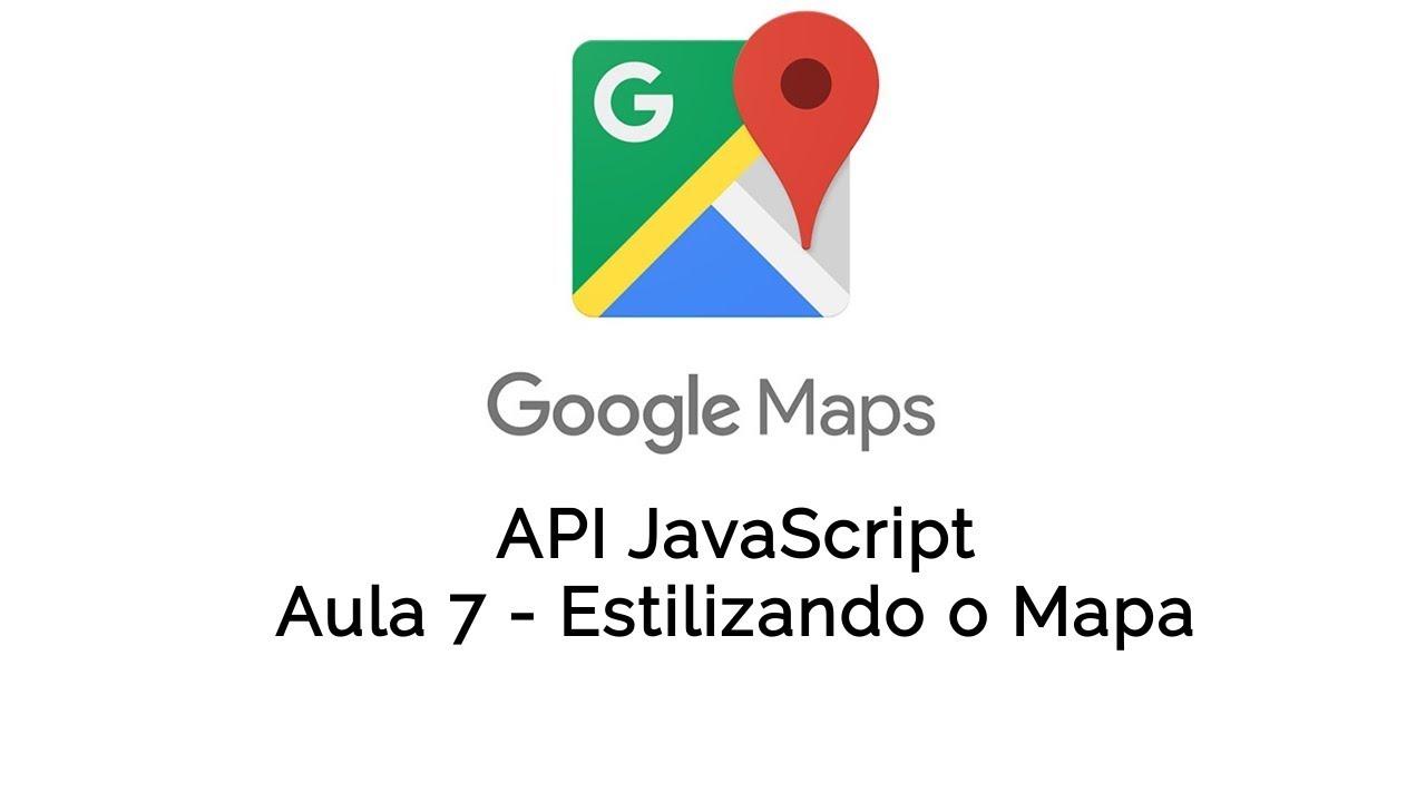 7 Google Maps Javascript Api Criando O Mapa Da Uber Styling