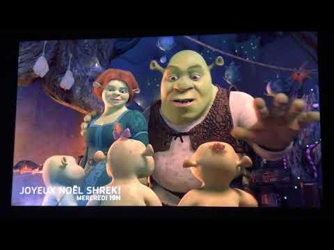 TVA Shrek joyeux Noël mercredi soir à 19h00