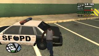 GTA San Andreas impound the Rustler