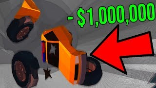 DESTROYING THE MONSTER TRUCK! *LOST 1 MILLION* (Roblox)