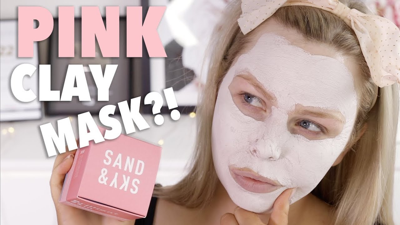 2a24a76f81369 MIRACLE PINK CLAY MASK ! - SAND AND SKY REVIEW - YouTube